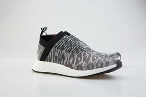 647144189 Adidas Men NMD CS2 Primeknit black core black future harvest BZ0515