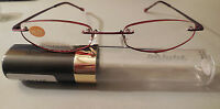 Insight Full & Compact Slimline Edgeglow Reading Glasses In Tube Retails $19.99