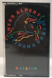 Herb Alpert Tijuana Brass Bullish Chrome Cassette Tape CS-5022
