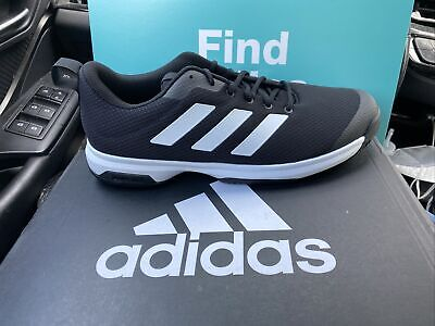 Adidas Men's Game Spec Tennis Shoes FX3650 Black and White Size: 11 | eBay