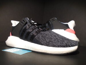 58310b1ff7cb ADIDAS EQT SUPPORT 93 17 CORE BLACK TURBO PINK WHITE ULTRA BOOST PK ...