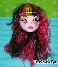 MONSTER HIGH DRACULAURA GREAT SCARRIER REEF DOLL HEAD FOR REPLACEMENT OR OOAK