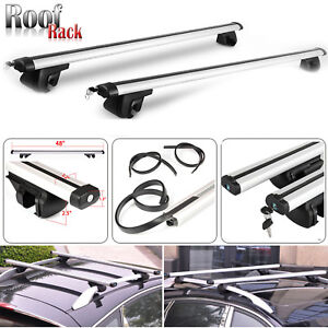 Universal Roof Rack Clamps Box Bars For With Roof Rails
