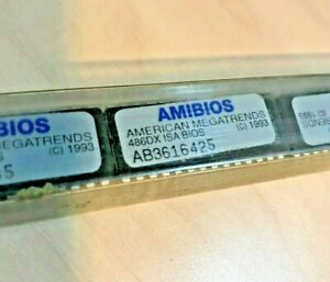 BRAND NEW AMERICAN MEGA TRENDS AMIBIOS 486DX ISA BIOS (C) 1993 - DIRECT OEM