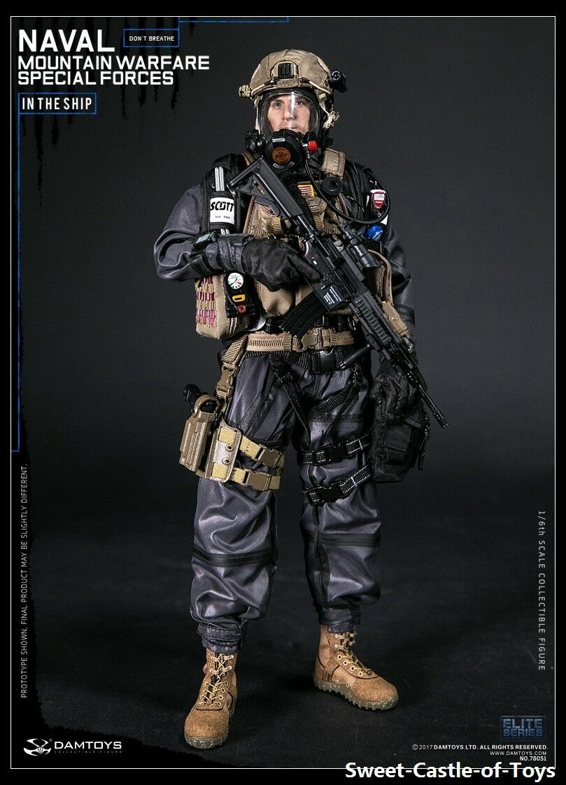 1/6 DamToys US Naval Mountain Warfare Special Forces 78051 78051 78051 Action Figure DAM Toy 626520