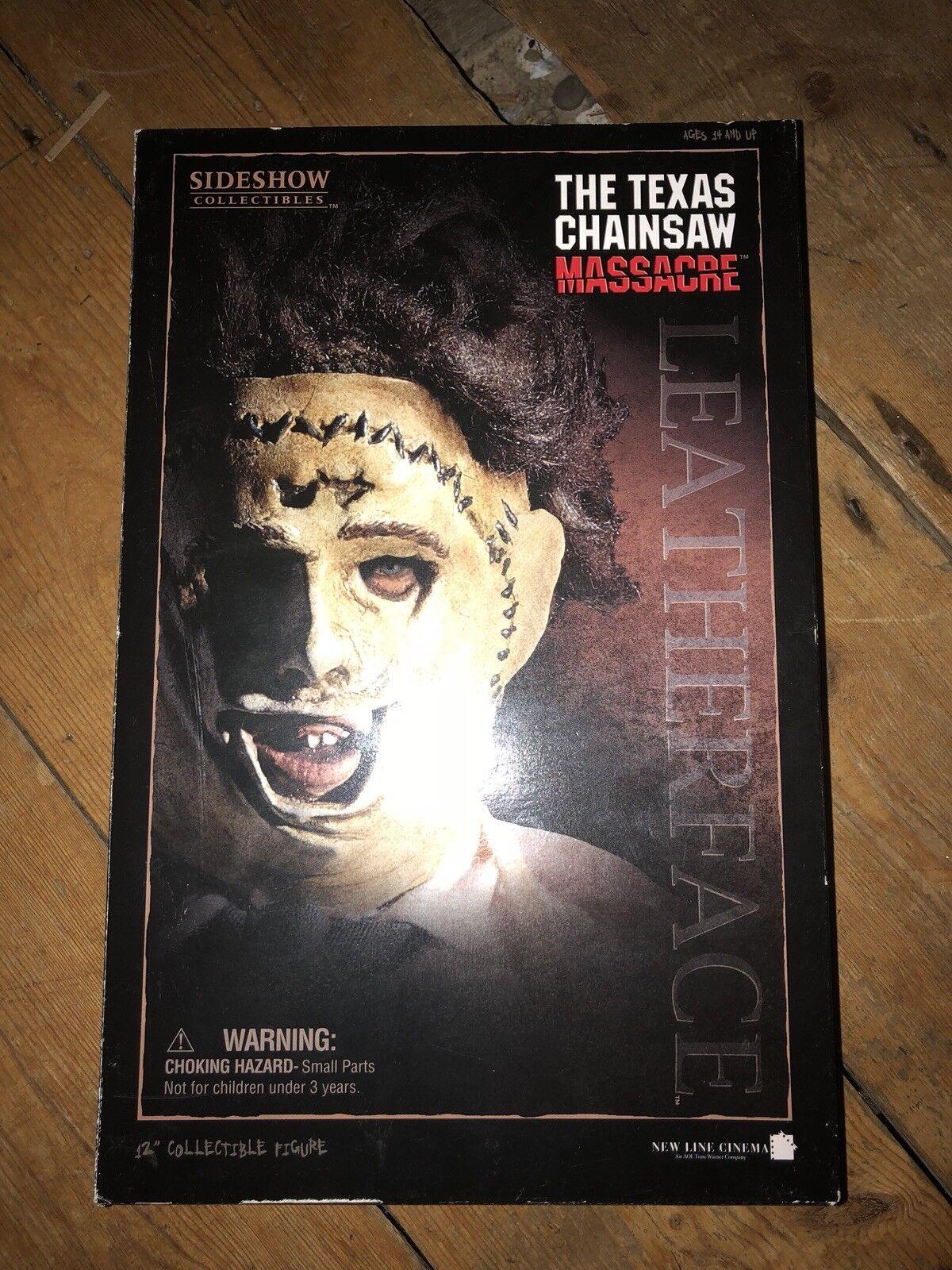 Sideshow Texas Chainsaw Massacre LeatherFace Gunnar Hansen  AFSSC123