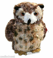 Aurora Osmond Great Horned Owl 8 Plush Stuffed Animal Toy