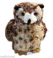 Aurora Osmond Great Horned Owl 8 Plush Stuffed Animal Toy