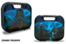 Skin Decal Wrap for Glock 18 19 21 22 43 9mm 45 Pistol Gun Hard Case ZOMBIE TROP