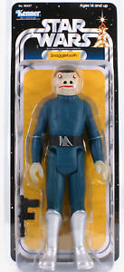 GENTLE-GIANT-Star-Wars-12-034-BLUE-SNAGGLETOOTH-Jumbo-vintage-Kenner-Exclusive-red