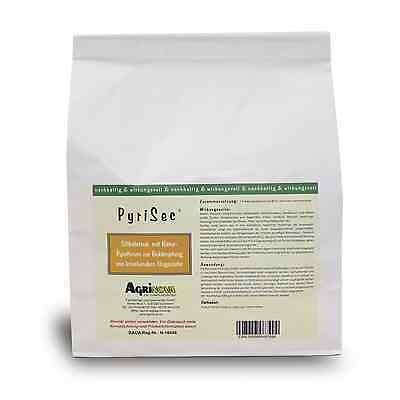 *07* PyriSec 1 kg amorphe Kieselgur/Pyrethrum, Vogelmilbe, Flöhe Käfer Parasiten