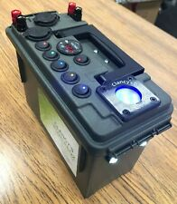 Clancy?s PowerBox 12 Volt Battery Box With Ice Jig Glow Cup.