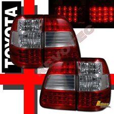1998-2005 Toyota Land Cruiser FJ100 Red LED Tail Lights Lamps 1 Pair
