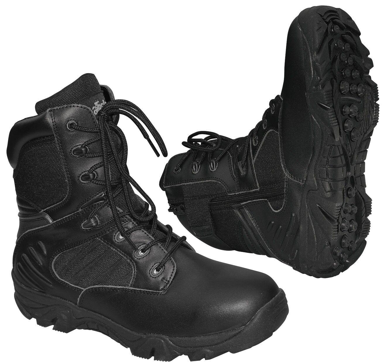Escursioni a piedi-Stivali Outdoor Stivali Trekking Springer Stivali DELTA FORCE NERO