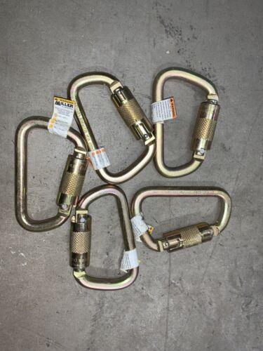Details about  /Lot of 5 steel s50-958 Locking Caribiner Auto Twist Lock