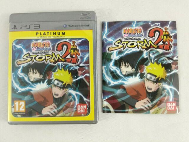 Playstation 3 PS3 VF Naruto Ultimate Ninja Storm 2 UNIQUEMENT BOITE VIDE notice