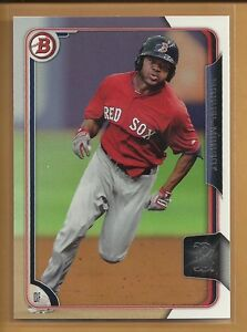 Manuel-Margot-RC-2015-Bowman-Draft-Prospects-Rookie-Card-38-San-Diego-Padres