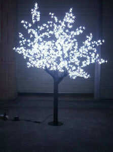 Christmas Lights White.Details About 6ft Height Led Cherry Blossom Tree Wedding Garden Holiday Christmas Light White