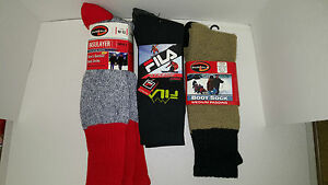 DUOFOLD-FILA-MEN-039-S-OUTDOOR-AND-BOOT-SOCKS
