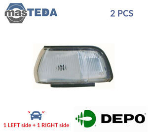 2x-DEPO-INDICATOR-LIGHT-BLINKER-LAMP-PAIR-212-1556R-WE-I-NEW-OE-REPLACEMENT