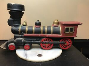 Vintage Mccormick Juniper Whiskey Locomotive Engine Decanter By B Harness1969
