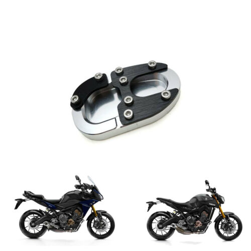 Yamaha MT 09 Tracer 2015-2017 Motorcycle Side Stand Shoe Puck Black Alloy MT09