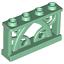 Ornamental Fences 1x4x2 4 Studs House Yard Garden Deck White Black Green Lego 4
