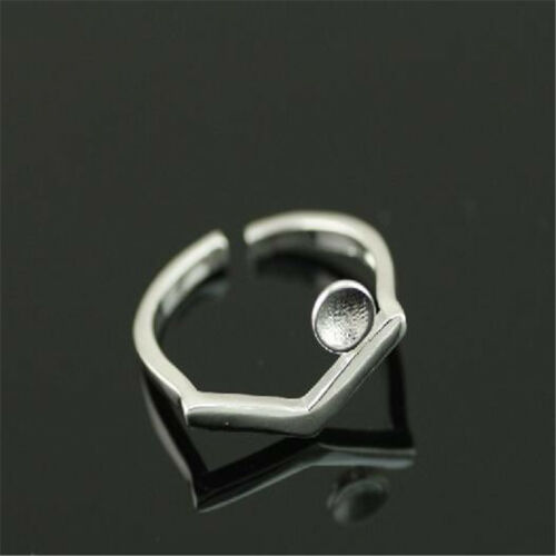 925 Solid Sterling Silver Plated Women//Men NEW Fashion Ring Gift SIZE OPEN H212