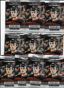 LOT-OF-10-2019-20-UPPER-DECK-SERIES-2-ROOKIE-EXCLUSIVE-O-PEE-CHEE-GLOSSY-PACKS