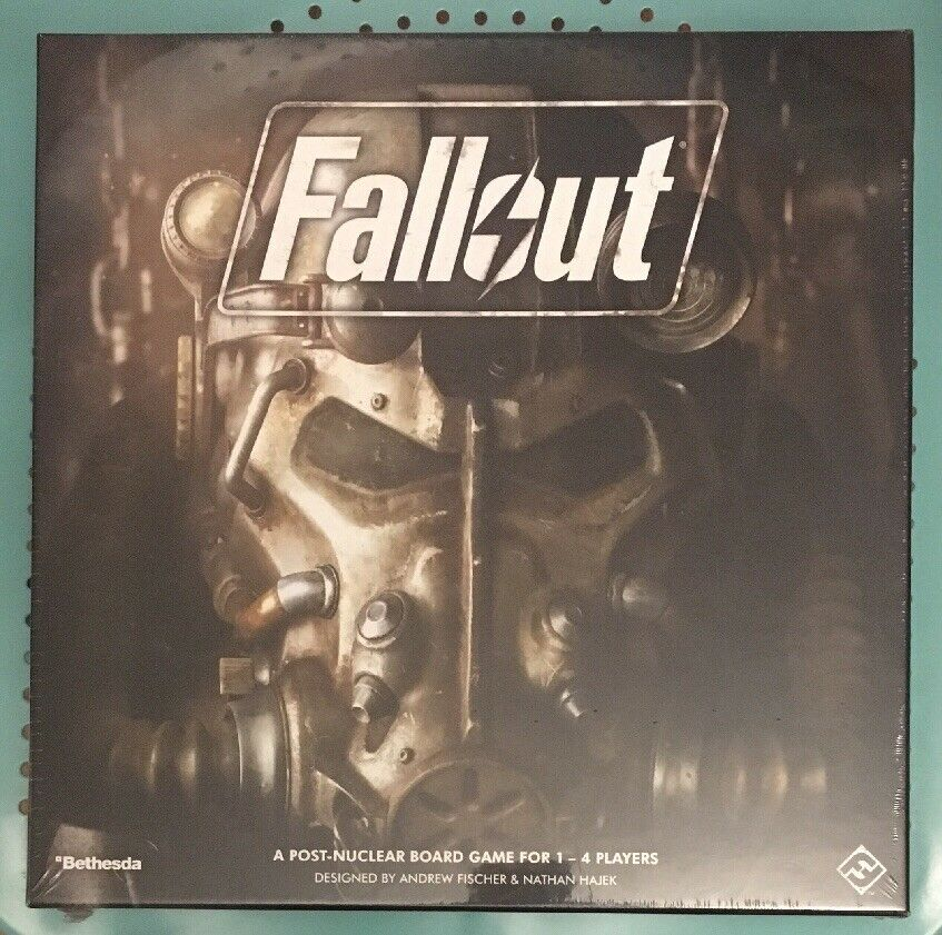 NEW   Fallout The Board Game   Fantasy Flight   Bethesda   Sealed