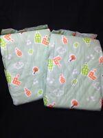 Fab Sense Green Plastic Adult Diaper Abdl 2 Pack Sample City Print Imported