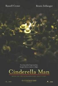 Cinderella Mann Original Filmposter - Zweiseitig Advance
