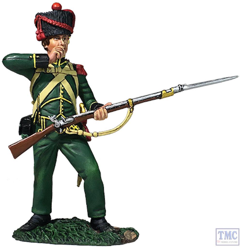 B36170 W.Britain Nassau Grenadier Standing Tearing Cartridge 1815 Napoleonic