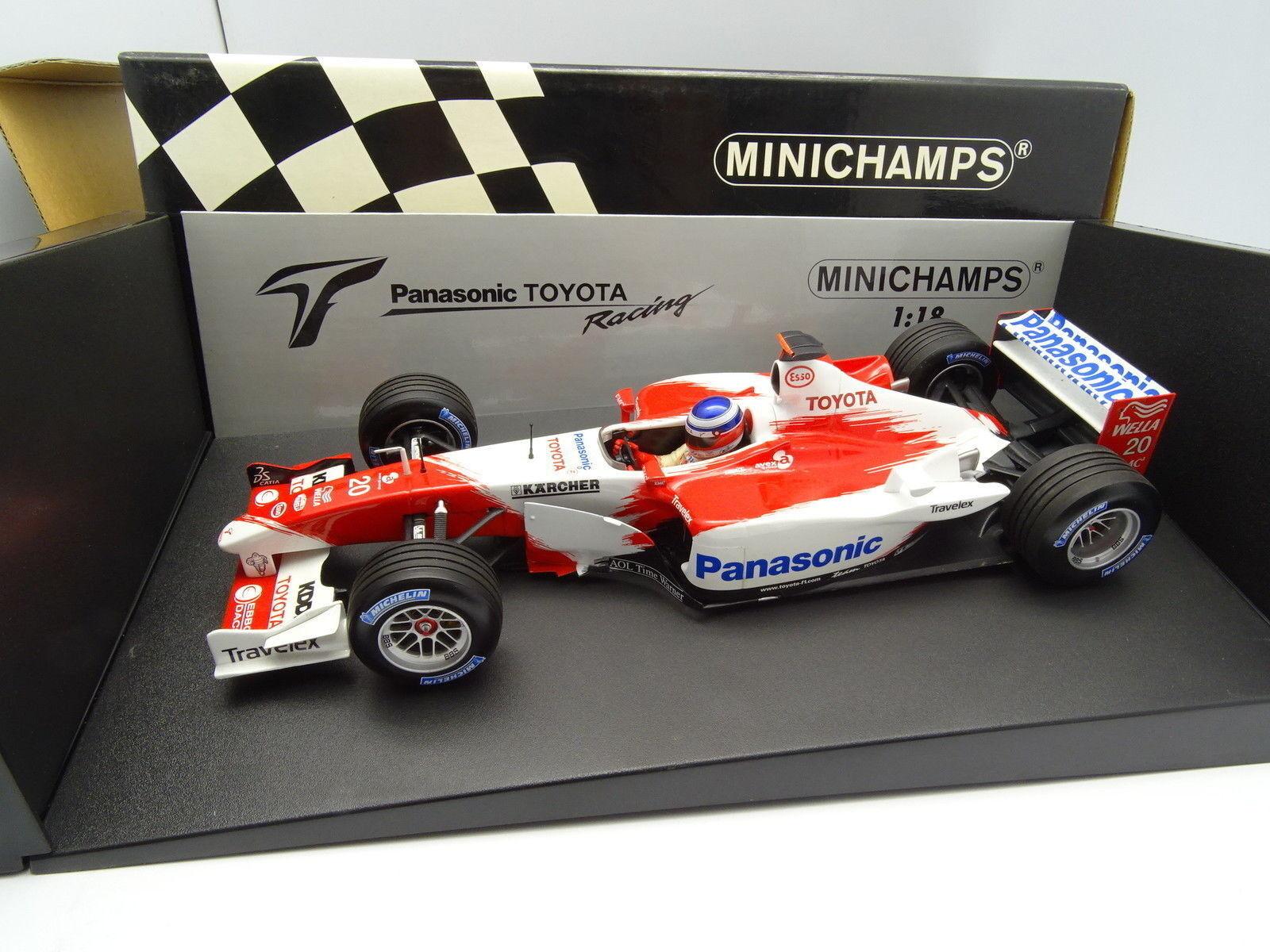 Minichamps 1/18 - F1 Panasonic Toyota Corsa TF103 Panis