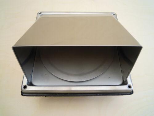 125er SCARICO CASSETTA MURO ed ventilazione cappa riflusso protezione agenti atmosferici cappa