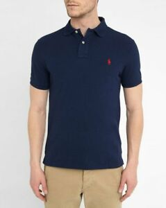 New NWT Mens Ralph Lauren Polo Shirt Small Pony Custom Fit Small Medium Large XL