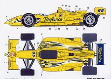 1/25 CART Telefonica decal /F1 Tamiya