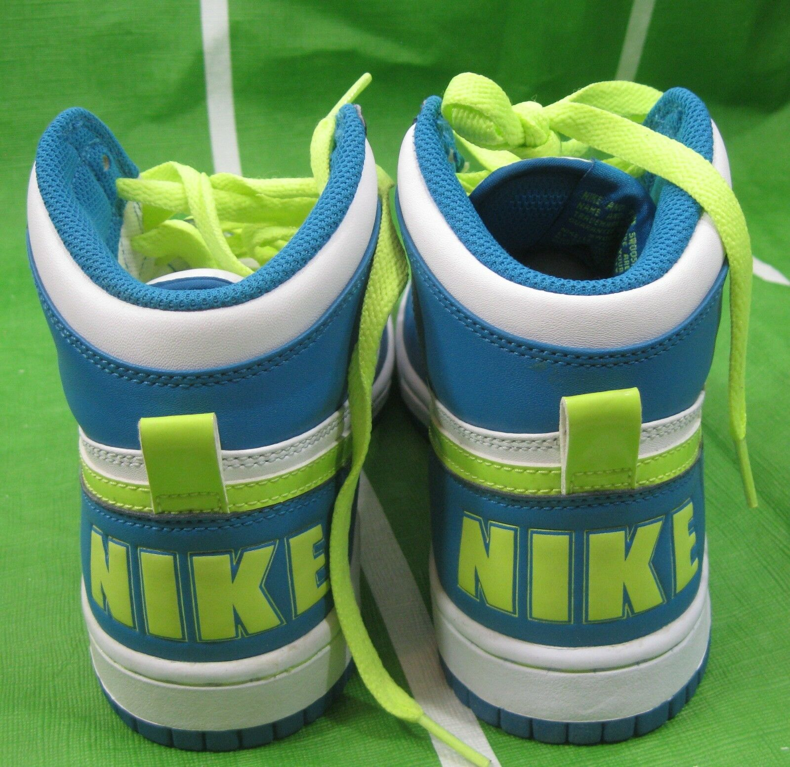 NEW Big Nike High 358858-171 bluee Volt Sneakers Sneakers Sneakers shoes Size 7.5 589735
