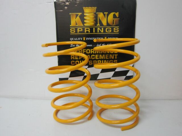 Super Ultralow Lowered Front KING Springs to suit Commodore VE V8 Models
