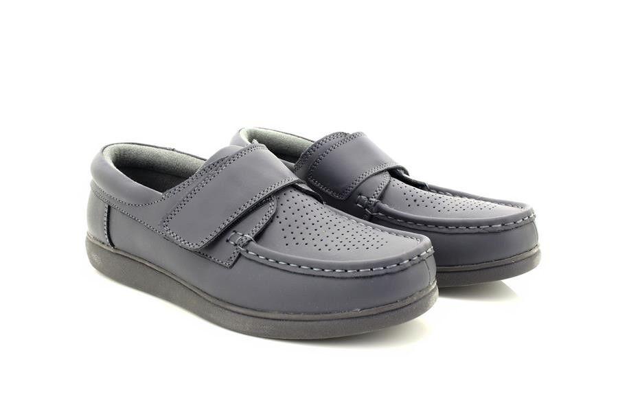 Unisexe Dek U9529 U9529 U9529 Tactile Fermeture Cuir Bowling Chaussures Cuir Gris 2321e9