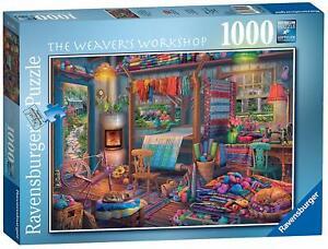 Ravensburger-Jigsaw-Puzzle-THE-WEAVERS-WORKSHOP-1000-Pieces