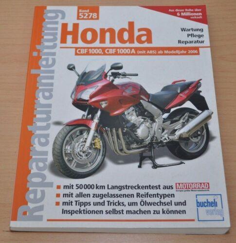1 von 1 - Honda CBF1000 CBF1000A Getriebe Motor Kupplung Elektrik Reparaturanleitung B5278