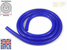 1 Metre Blue Silicone Vacuum Boost Hose Pipe 4mm Internal diameter x 8mm Outer
