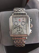 NEW Michele Watch Deco Day Diamond Signature  Watch.