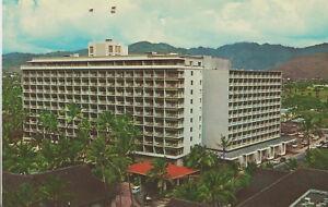 Details About Postcard Hi Princess Kailulani Hotel Waikiki Beach Hawaii Sheraton