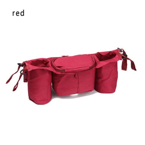 Universal Pouch Cup Bag Holder Trolley Accessories Pushchair Stroller Organizer