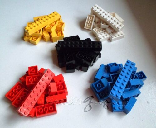 * Genuine Lego 100 Bricks 2x2 2x3 2x4 2x10 Mixed Colours Ideal Starter Set