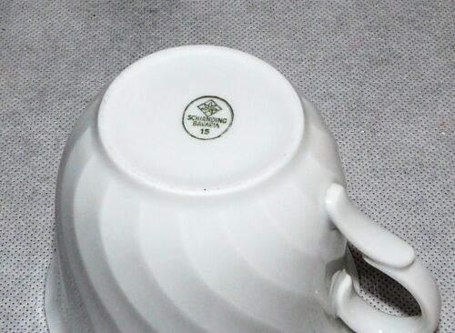 Schirnding Bavaria Pallas blanc ondulé très bon état-pièces au choix