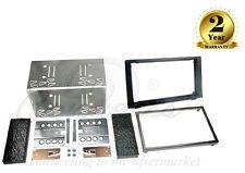SAAB 9-3 2006-2014 Stereo Auto Doppio Din Fascia Adattatore Kit di montaggio ct23sa03