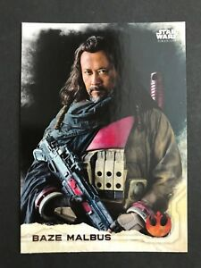 2016-Topps-Star-Wars-Rogue-One-Series-1-3-Baze-Malbus-NrMint-Mint